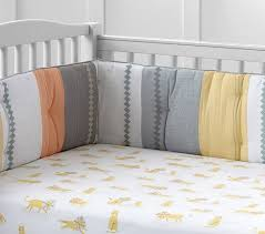 organic little lion baby bedding pottery barn kids