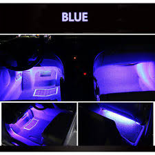 Led Strip For Car Interior Car U0026 Truck Interior Lights For Audi A1 Ebay