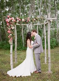 Wedding Arch Greenery 30 Summer Wedding Arches And Backdrops Weddingomania