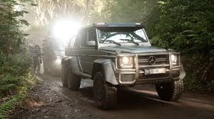 jurassic park car mercedes mercedes benz gives us our best look at jurassic world s monstrous
