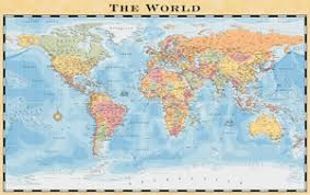 Shower Curtain World Map World Maps For Web Print And Display Media