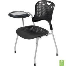 college classroom chairs with desk arm set of 4