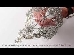 brooch bouquet tutorial how to use our tear drop shaped brooch bouquet kit