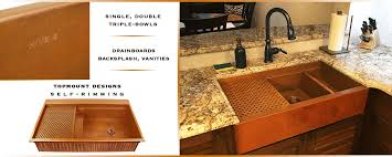 Copper Accessories For Kitchen Usa Copper Sinks For Kitchen Bath U0026 Bar Havens Metal