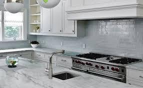 White Kitchen Glass Backsplash Interior Grey Glass Backsplashes For Kitchens With White Wall