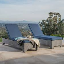 Outdoor Wicker Chaise Lounge Chaise Lounges Costco