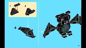 lego halloween bat instructions 40090 youtube