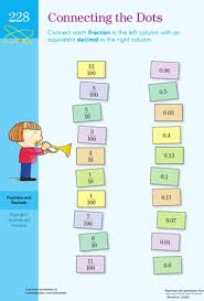 equivalent fractions and decimals worksheet education com