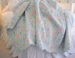 Beach Cottage Bedding Shabby Chic Bedding Shabby Chic Quilt Shower Curtain Pillows