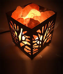 himalayan glow ionic crystal salt basket l tree basket salt ls salt nightlights