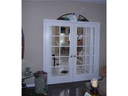French Doors With Transom - a stained glass transom over the interior french doors the glass