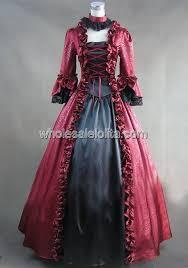 Halloween Ball Gowns Costumes Cheap Red Masquerade Ball Gowns Aliexpress