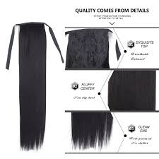 white hair extensions online shop alileader false hair tress clip in ponytail