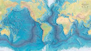 map world oceans the map of the depths 1843