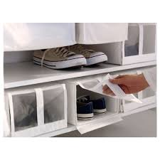 skubb shoe box white 22x34x16 cm ikea
