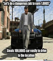 Gta V Memes - gta v logic by deepak27 meme center