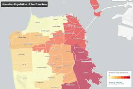 Map Of San Francisco Districts by Mapping Homelessness And Affordable Housing In San Francisco