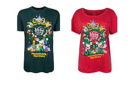 mickey u0027s very merry christmas party annual passholder shirts now