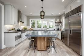 contemporary kitchen island lighting contemporary kitchen island pendants spotted in california home