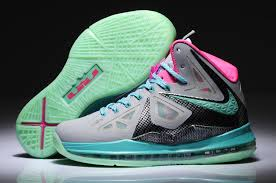 lebron shoes green and grey outright