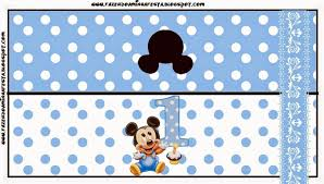 mickey first year with polka dots free printables 096 jpg 1600