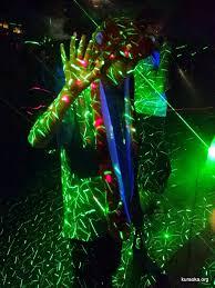 halloween laser lights the kuraoka family refrigerator 2015