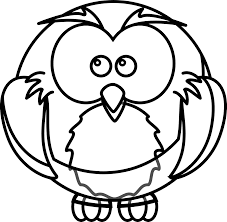 cartoon picture of an owl