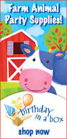 Barn Animal Party Supplies Kid Birthday Barnyard Party
