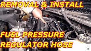 lexus rx300 vacuum hose diagram fuel pressure regulator vacuum hose replacement youtube