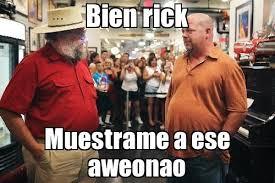 Meme Rick - bien rick muestrame a ese aweonao generador de rage comics
