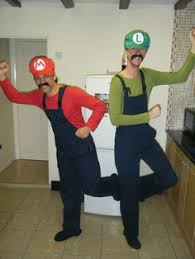 Mario Luigi Halloween Costumes Couples 21 Couples Costume Ideas Tall Short Couple