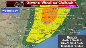 Dallas Weather Map by Enhanced Risk Of Severe Weather On Tuesday U0026 Wednesday U2022 Texas