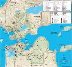 Washington State Parks Map by Deception Pass Park Map Deception Pass Park Foundation