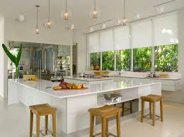 miami blinds and designs business for curtains decoration a brilliant white kitchen design with silhouette window shadings in the elle decor modern life