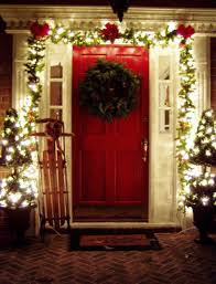 Outside Home Christmas Decorating Ideas 103 Best Simple Christmas Outdoor Decor Images On Pinterest