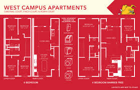 Grand Arena Grand West Floor Plan by Apartments Floor Plans Ferris State University