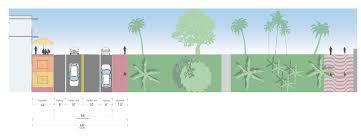 Plans Com by Miami Beach Master Plan U0026 Street Design Guide Street Plans