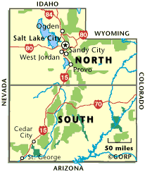 map of southern utah where to go cing