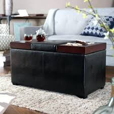 ora oval storage ottoman oval storage ottoman medium size of decent coffee table round