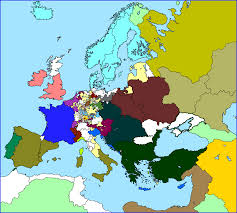 Blank Maps Of Europe by Otl U0027standard U0027 Maps Of Europe Alternate History Discussion