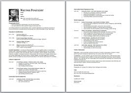 Make A Resume On Word Resume Template How To Create Best Christmas Accessories