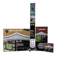 yardgard select 4 ft x 144 ft complete fence kit 328822a the