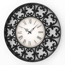 Decorative Metal Wall Clocks Decorative Fancy Wall Clocks Homesfeed