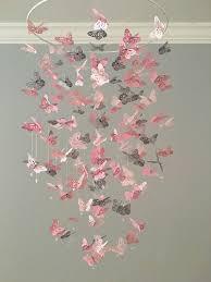 mobile chambre bébé relooking et décoration 2017 2018 papillon monarque lustre