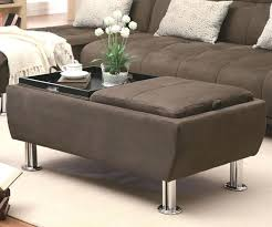 Ottoman With Flip Top Tray Ottoman With Flip Top Tray Coaster Ottomans Casual Styled Ottoman