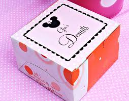 personalized donut boxes 12 best minnie mouse party ideas images on