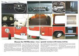 1974 volkswagen bus thesamba com vw archives 1974 vw bus sales brochure the vw
