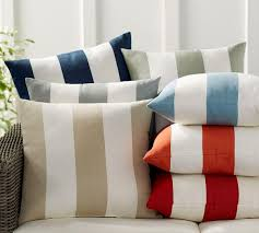 Striped Cushions Online Pb Classic Stripe Indoor Outdoor Cushion Pottery Barn Au