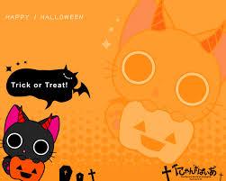 cute animated halloween wallpapers nyanpire zerochan anime image board