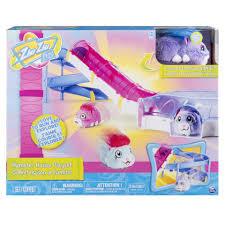 zhu zhu pets hamster house playset slide tunnel toys
